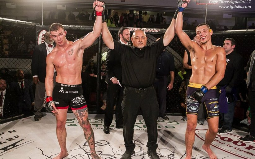 Image for Josh Harvey Frustrated with Majority Draw at Cage Titans 41