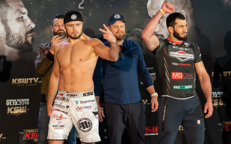 Image for KSW 46 Weigh-In Results