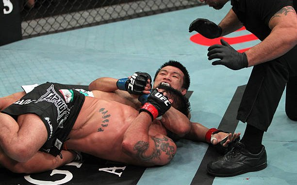 Image for The MMA Grappling of the Korean Zombie