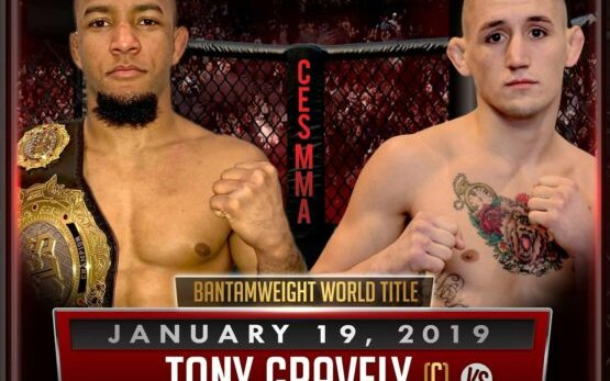 Image for Tony Gravely defends Bantamweight Title Against Kris Moutinho at CES 54