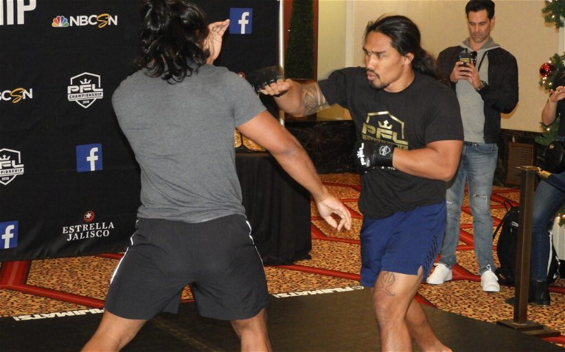 Image for PFL 11 Finalists Show Off Skills at Open Workout