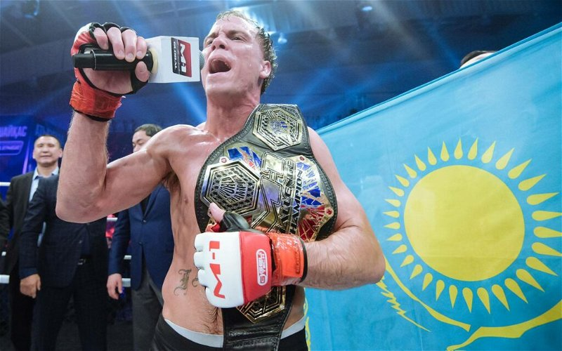 Image for Nate Landwehr Defends M-1 Global Title in Incredible Fashion