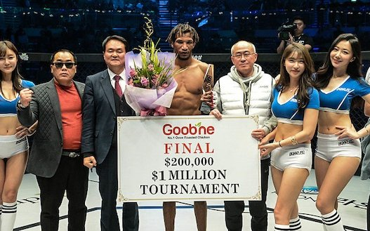 Image for ROAD FC 052 Results: Mansour Barnaoui wins $1 Million Tournament with KO over Shamil Zavurov