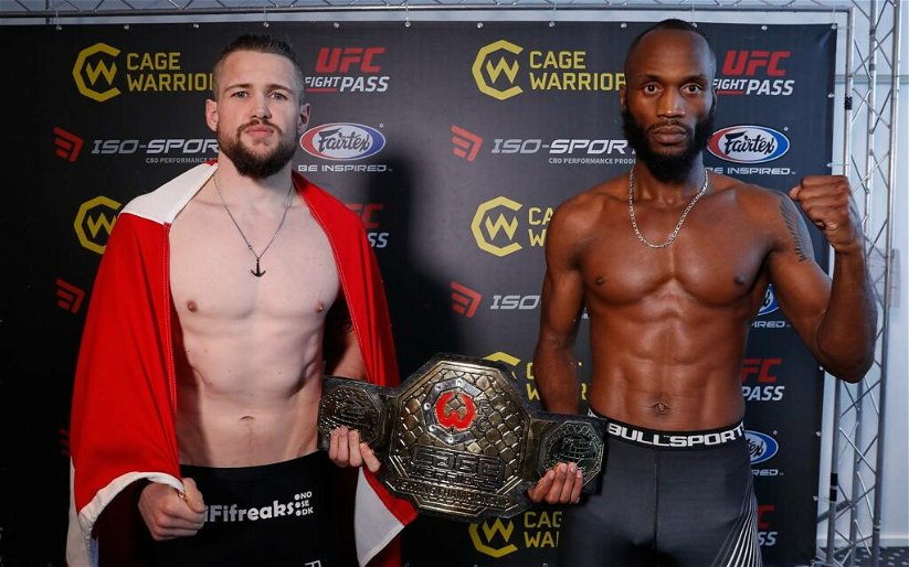Image for Cage Warriors 103 Results