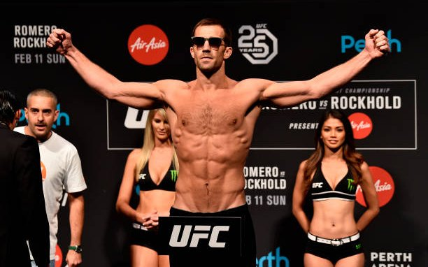 Image for The unstoppable force vs the immovable object: Luke Rockhold vs Sean Strickland face-off in UFC 288