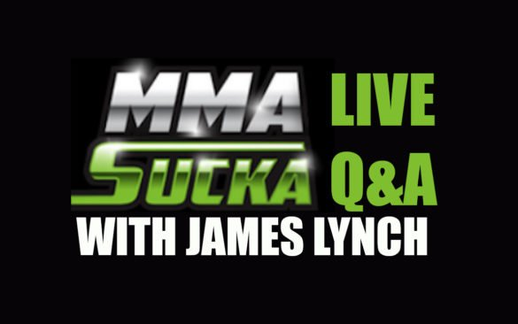 Image for MMA Sucka Live Q&A (Apr. 2019) with James Lynch