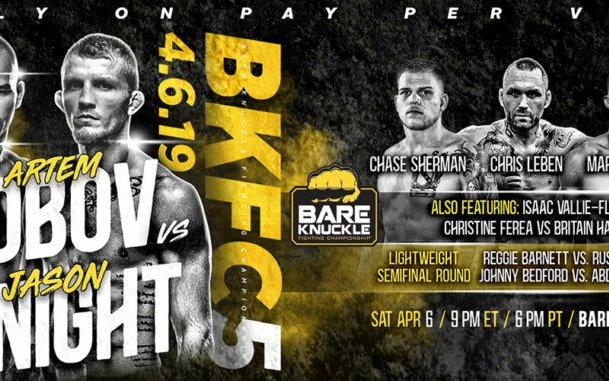 Image for Bare Knuckle FC 5: Lobov vs. Knight – Results