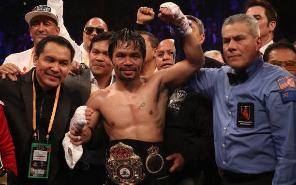 Image for Manny Pacquiao inks deal with RIZIN Fighting Federation