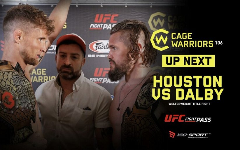 Image for Cage Warriors 106 Main Event Ends in Bloody No Contest