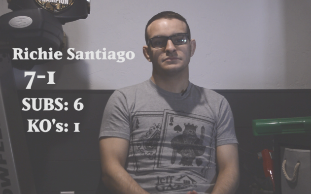 Image for Richie Santiago Talks Mentality Ahead of Contender Series Fight