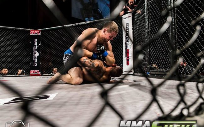 Image for A Long Road to the UFC for Tristan Connelly