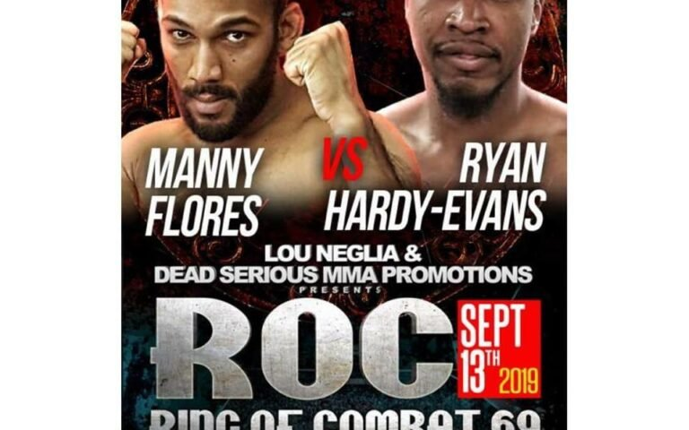"""Image for """"The African Samurai"""" Manny Flores Talks Third Fight at Ring of Combat 69"""
