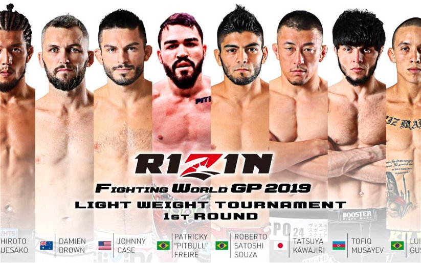 Image for Four Fights, Lightweight GP Announced for RIZIN 19