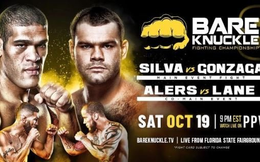 Image for Bare Knuckle Fighting Championship 8 Results