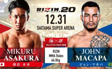 """Image for RIZIN 20's John Macapa: """" I will do everything to leave with the victory."""""""
