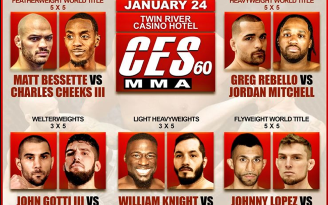 Image for CES MMA 60 Results and Recaps
