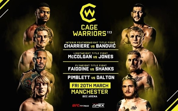 Image for CageWarriors 113 – Results