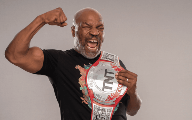 Image for Vitor Belfort Works Out with Mike Tyson Following AEW Double or Nothing