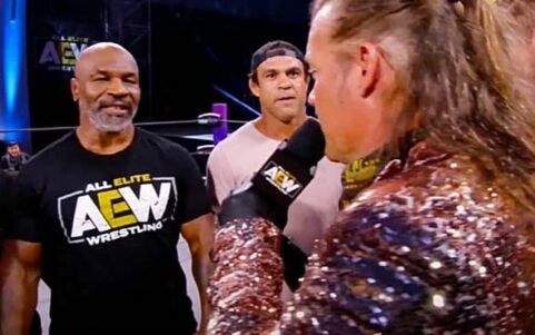 Image for MMA Legends Vitor Belfort and Rashad Evans Join Mike Tyson on AEW Dynamite
