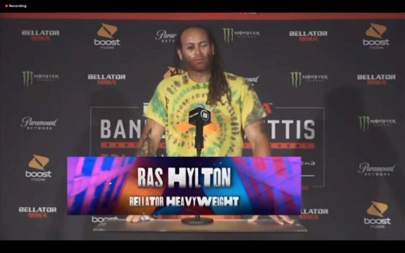 Image for Ras Hylton Pulls Out Win at Bellator 242 on Three Days Notice