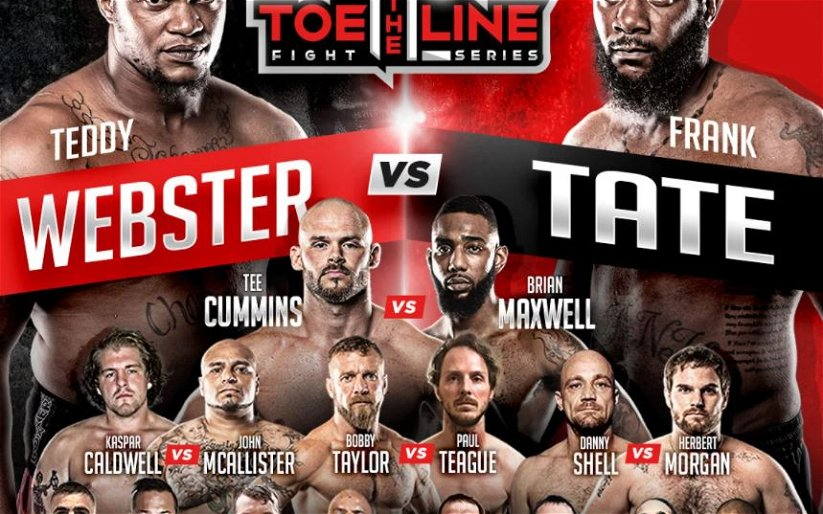 Image for BKFC debuts Toe the Line this Saturday Night on BKFC App