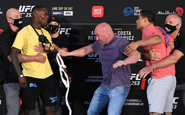 Image for UFC 253 Weigh-In Results