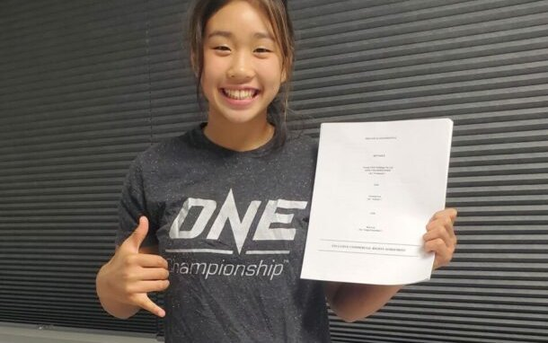 Image for ONE Championship Signs Victoria Lee