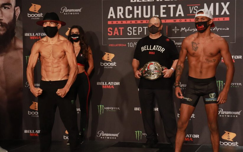 Image for Bellator 246 Results: Archuleta vs. Mix for the Vacant Bantamweight Championship