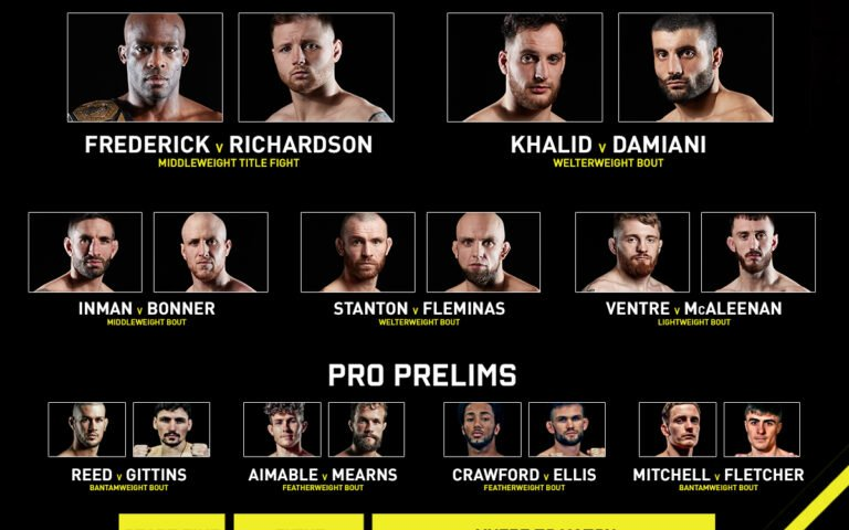 Image for Cage Warriors 118: The Trilogy Strikes Back 2 Results