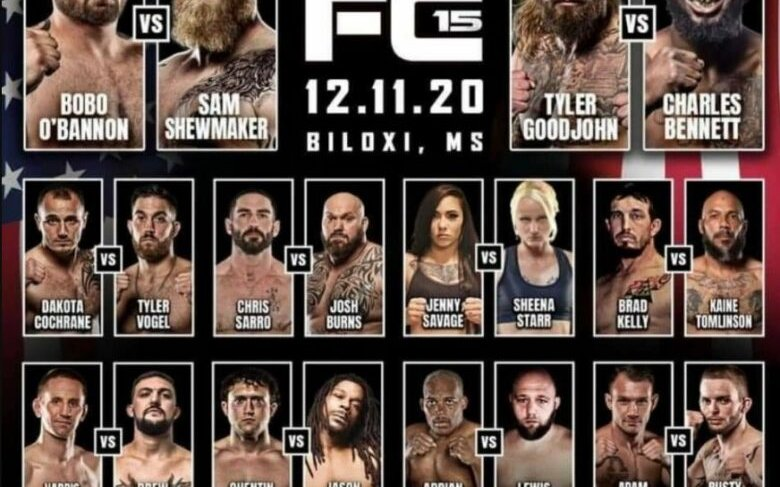 Image for Bare Knuckle FC 15 Results