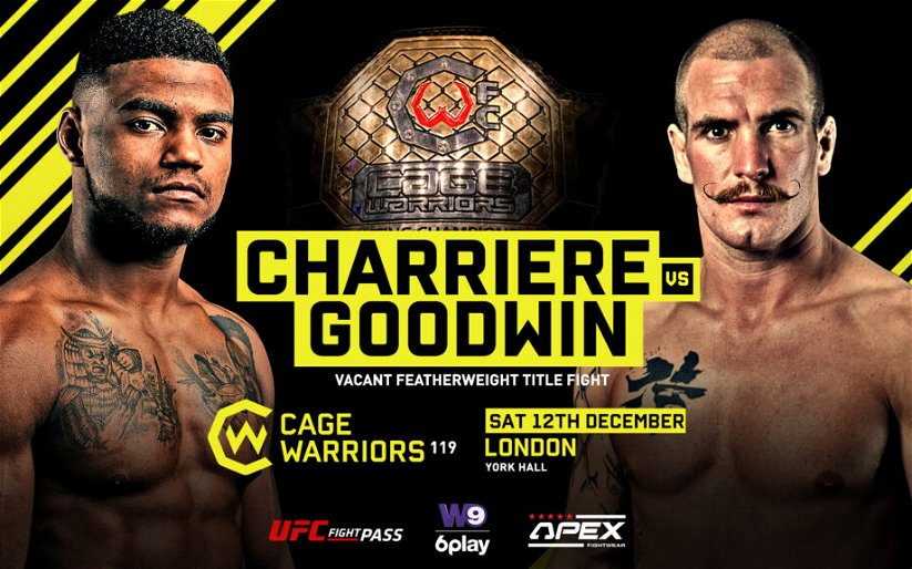 Image for Cage Warriors 119: The Trilogy Strikes Back 3 Results