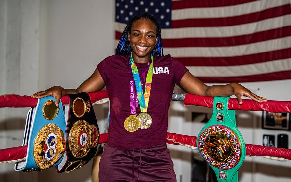 Image for Two-Time Olympic Gold Medalist Claressa Shields Signs with PFL