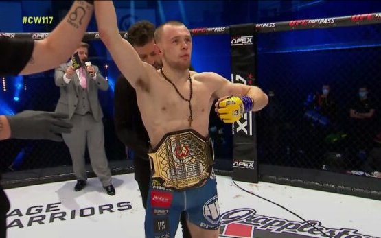 Image for Jake Hadley wins Cage Warriors Flyweight Championship