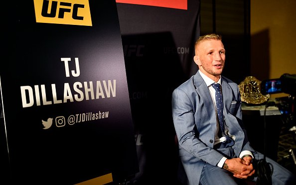 Image for Three Options for TJ Dillashaw's Return