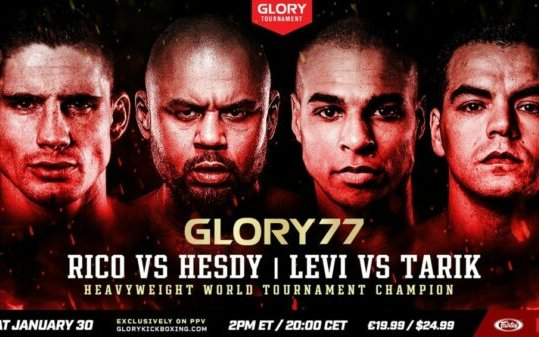 Image for GLORY 77 Full Fight Card and Event Information