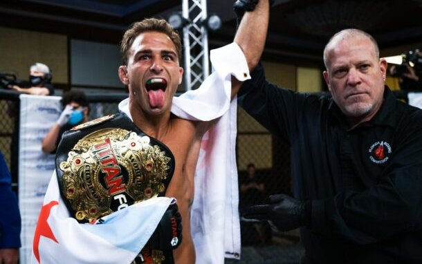 Image for Titan FC Champ Danny Sabatello: 'My Sights Are On the UFC'