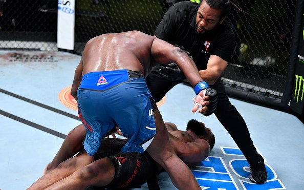 Image for Derrick Lewis Smashes Curtis Blaydes with 2nd Round KO!