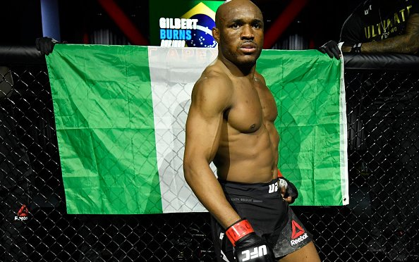 Image for Kamaru Usman Finishes Gilbert Burns in Round 3 at UFC 258