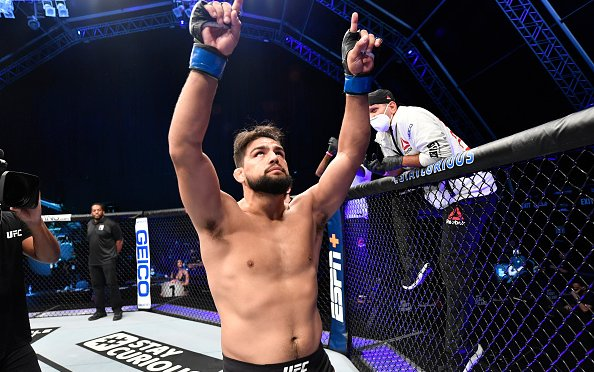 Image for Kelvin Gastelum and Ian Heisinch UFC 258 Preview