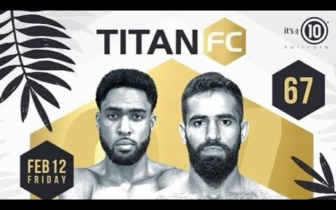 Image for Titan FC 67 Results