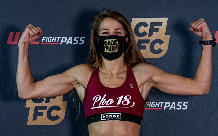 Image for Jasmine Jasudavicius on CFFC 93 Fight vs. Ashley Deen: It's a 'Match-up For the Fans'