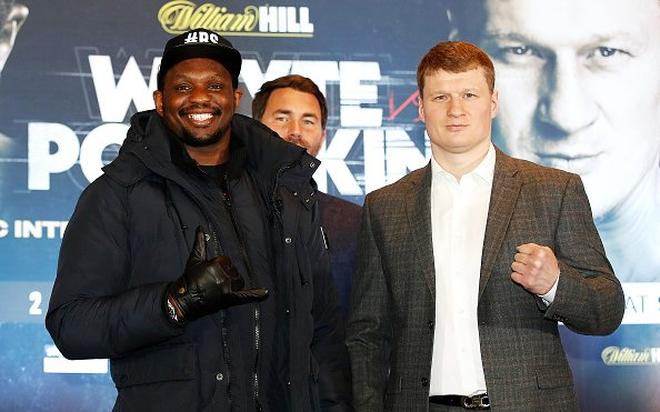 Image for Dillian Whyte vs Alexander Povetkin 2 – The Rumble On The Rock