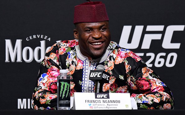 Image for The Francis Ngannou Life Story, In His Own Words