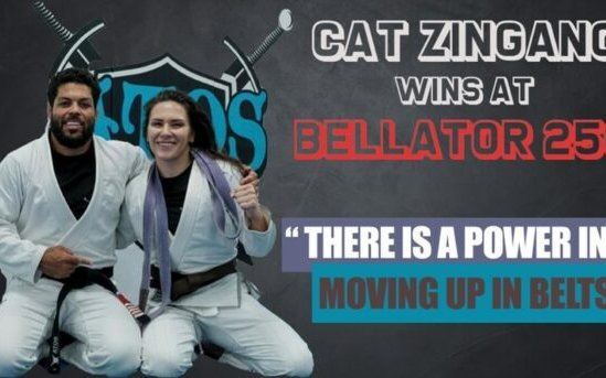 Image for Cat Zingano: 'I am on a run for gold' Following Round One Submission at Bellator 256