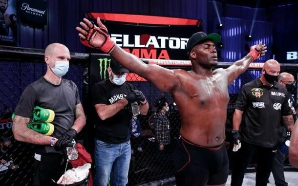Image for Davion Franklin is Aiming for Greatness Ahead of Bellator 259