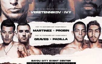 Image for Fury FC 46 Results