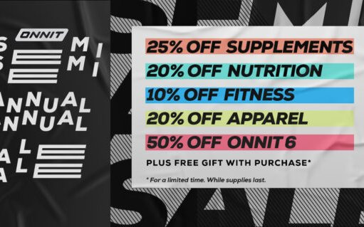 Image for Onnit Semi Annual Sale Has Begun