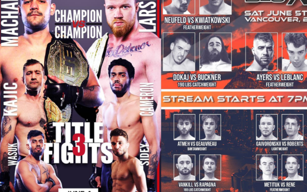 Image for A Giant Weekend for Canadian MMA