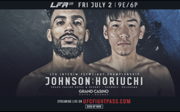 Image for LFA 110 Preview: Flyweight Title on the Line