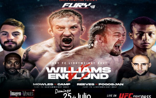 Image for Fury FC 48 Results